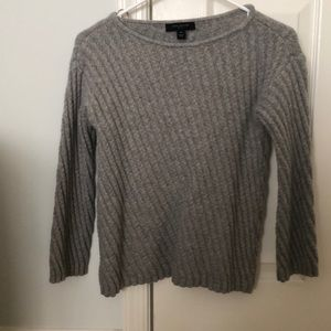 Ann Taylor wool bell sleeves sweater